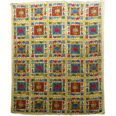 Patchwork Design Bedcover thumbnail