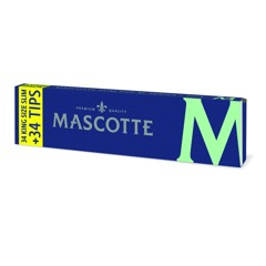 Mascotte Kingsize Slim Rolling Papers With Tips thumbnail